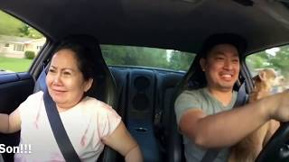 Taking my Vietnamese mom for a ride in the GT-R