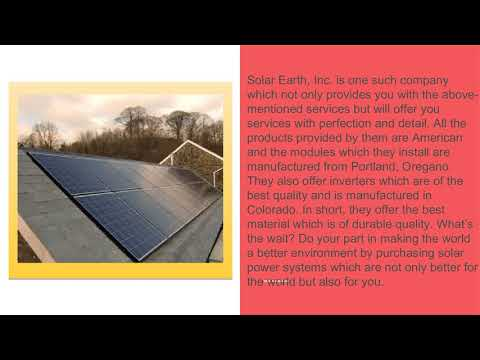 Install a Solar Power System from a Licensed Solar Company