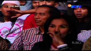 WALI BAND Feat THE VIRGIN [Aku Bukan Bang Toyib] Live At Konser Wali Dijamin Rasanya (10-06-2014)