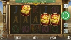Book of Sun 12 Free Spins