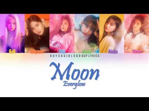 EVERGLOW(에버글로우) – Moon (달아) [COLOR CODED LYRICS(HAN ROM ENG)} ▶3:16