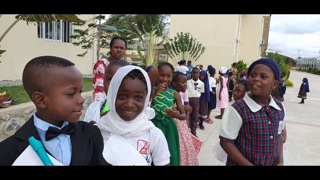 Believe it or not this school is free-Nigeria-Korea Model School Abuja City, one of the best.