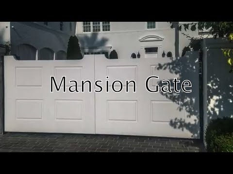 Sherman Oaks Mansion Gate | Mulholland Security Los Angeles 1.800.562.5770
