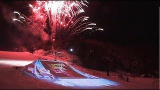 蔵王樹氷まつり【プロジェクションマッピング&Extrem Air】記録映像