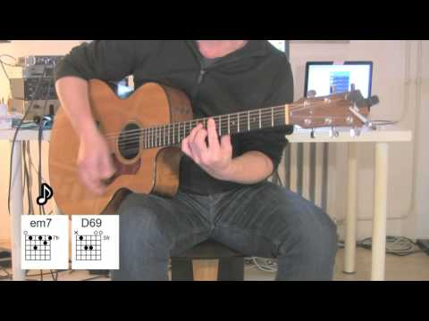 Beat It - Acoustic Guitar - Chords - original vocal track by Michael Jackson