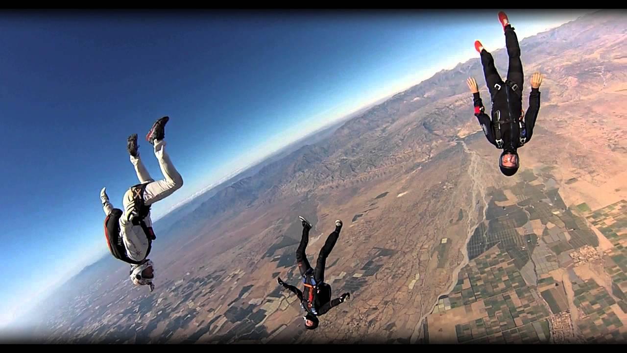 parachutisme taroudant