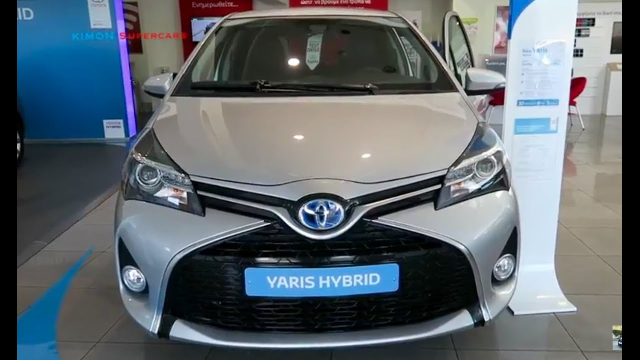 NEW 2017 Toyota Yaris Hybrid  Exterior and Interior  YouTube
