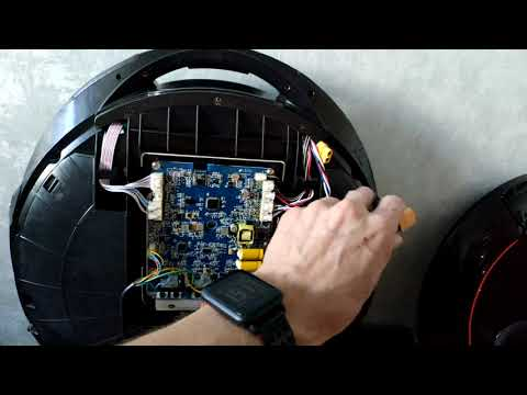 Inmotion V5 замена транзистора, предохранителя и гидроизоляция