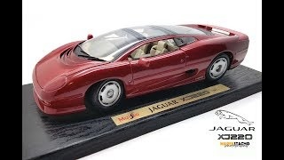Review of 1:18 1992 Jaguar XJ220 by Maisto