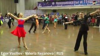 Egor Vasiliev - Valeria Rezanova | Cha-cha-cha | Saint-Petersburg Championship 2016