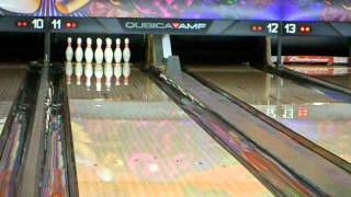amf green mamba bowling ball video