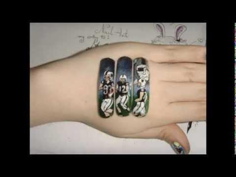 Go Raiders My Nail Art To Mromarsgirl Youtube