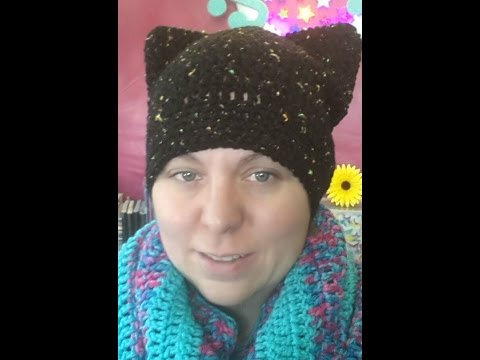How To Crochet A Black Cat Hat