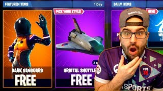 NEW FREE DARK VANGUARD SKIN in Fortnite + Battle Royale Victory!
