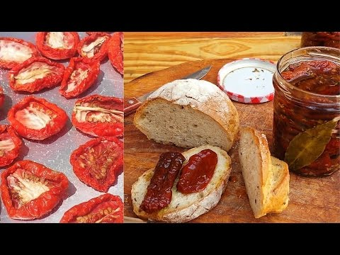 Italian homemade sun dried tomatoes