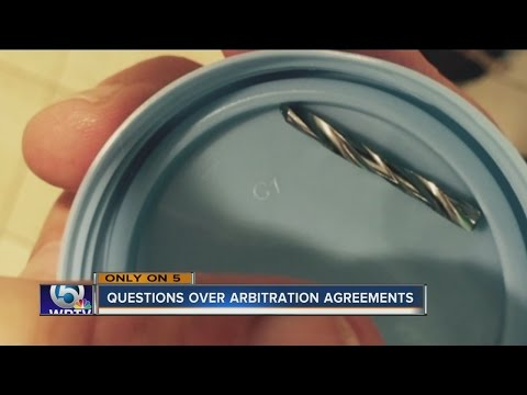 Questions over arbitration agreements