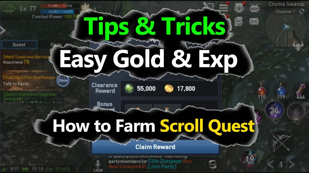 how to get gold tips in dash quest