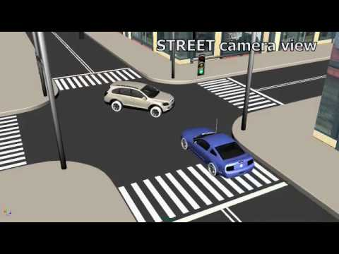 CourtFX - Car Accident Recreation - YouTube