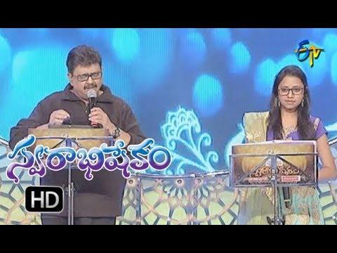 Yentha Yentha Vintha Song|SP.Balu  , Aishwarya Performance|Swarabhishekam|24th December 2017|ETV
