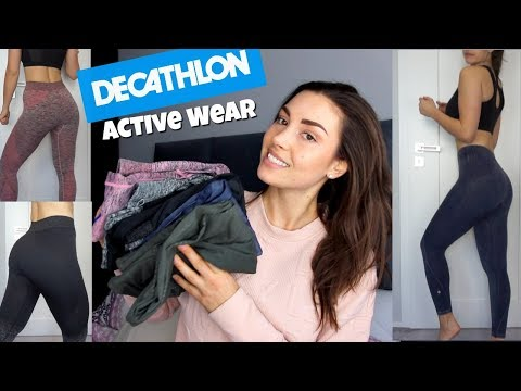 Decathlon Active Wear Review Try On Hot Or Not Saturday Youtube