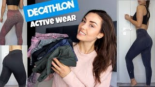 Decathlon Active wear review & Try on   Hot or Not Saturday