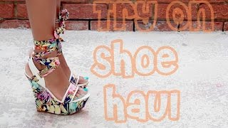 Try On Shoe Haul | CiCiHot.Lolashoetique