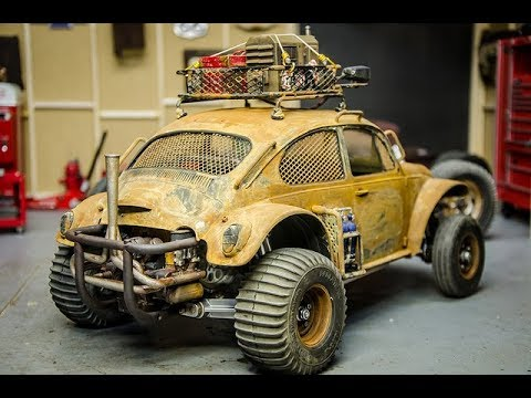 Scale VW Engine in the Apocolypse Sand Scorcher with Shapeways
