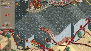 Rollercoaster Tycoon Loopy Landscapes #24 (Volcania: Finishing first timer pt. 1)