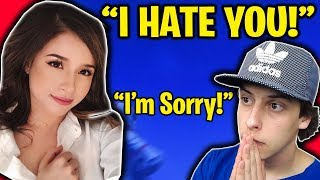 I REALLY DID THAT TO POKIMANE!!! (Fortnite Battle Royale Cizzorz & Pokimane Duos Gameplay) thumbnail