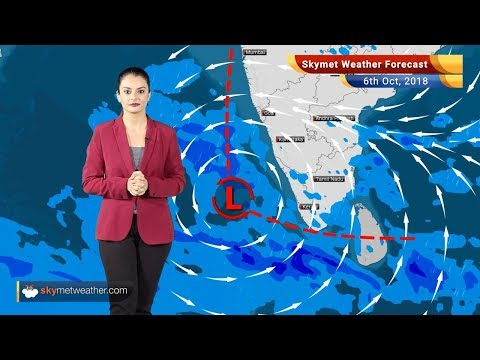 Weather Forecast for Oct 6: Heavy rain in Chennai, Kerala, Tamil Nadu; hot weather in NW India