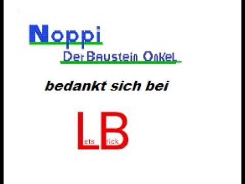 Noppi Spezial - Ein Dankeschön an Lets Brick