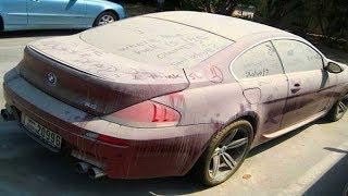 Эмираты. Дубай. Аукцион брошенных автомобилей.