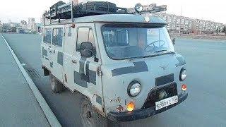 Переезд в Краснодар на УАЗ буханке 2400км