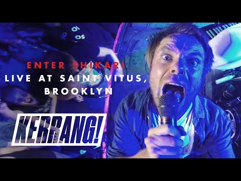 ENTER SHIKARI: Live at Saint Vitus in Brooklyn, New York
