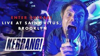 ENTER SHIKARI: Live at Saint Vitus in Brooklyn, New York YouTube Videos