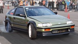 Rear Wheel Drive Honda CRX (BMW Powered!)
