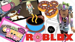 ROBLOX | Coffee Shop | WATCH ME MAKE COFFEE | Jumpingberry11