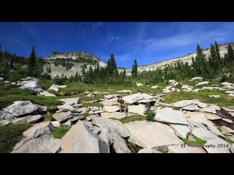 Selkirk Mountains - Beehive Lakes - Homemade Glidecam