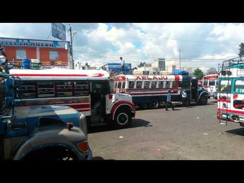 Bus Terminal - Quetzaltenango (Guatemala)