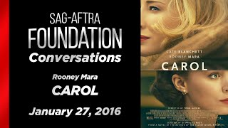 Conversations with Rooney Mara of CAROL