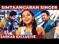 SARKAR Simtaangaran SONG Singer Aparna's Live Performance! | Vijay | AR Rahman | RS 34