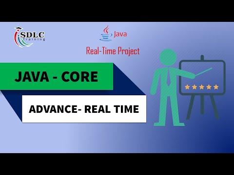 Java Demo Training | SDLC Training | Core Advance & Real Time Java