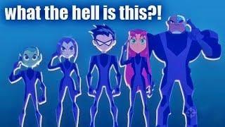 "I Refuse To Watch ""Teen Titans Go Vs. Teen Titans""...."