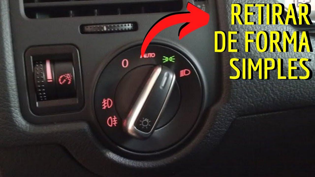 DICA - Interruptor de Farol Volkswagen - YouTube