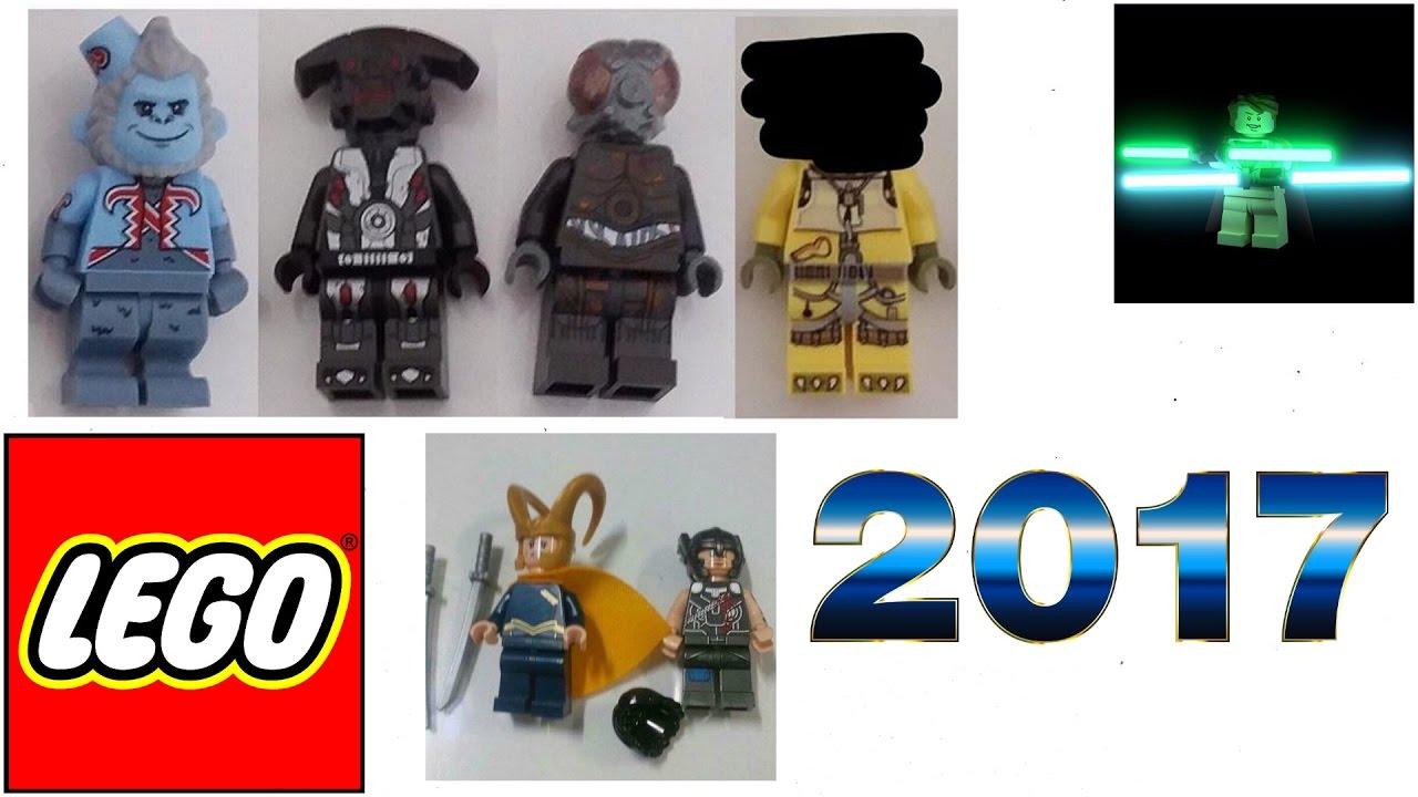 New LEGO 2017 Summer Minifigures! Star Wars, Thor Ragnarok ...