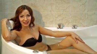 Угловая акриловая ванна Triton Медея