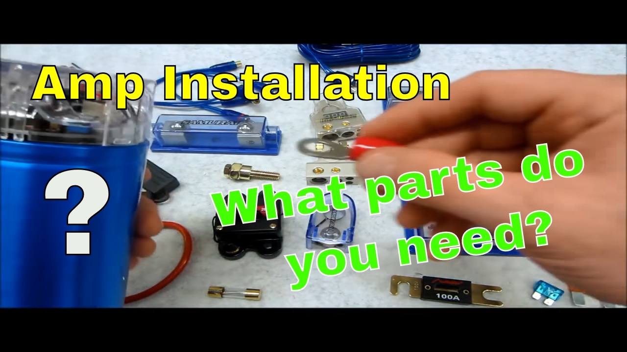 How To Wire Up Your Car Audio Amp Power Flow Kit Youtube Chevy Cruze Wiring Harness Grommet