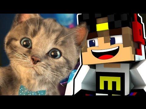 Майнкрафт Выживание ЕвгенБро и милый Котик Майнкрафт 2017 Minecraft #для детей #мультик игра и Дети