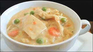 Homemade Chicken and Dumplings!!!