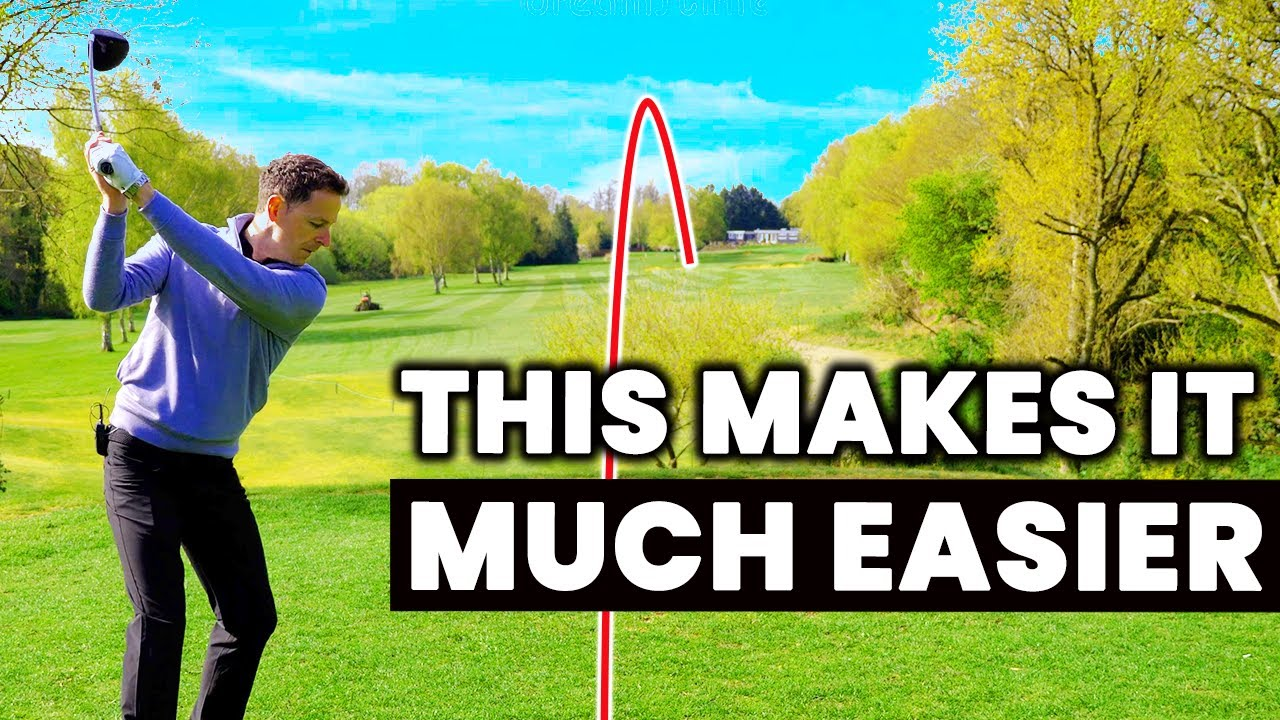 HOW TO HIT DRIVER STRAIGHT - This Makes It Much Easier